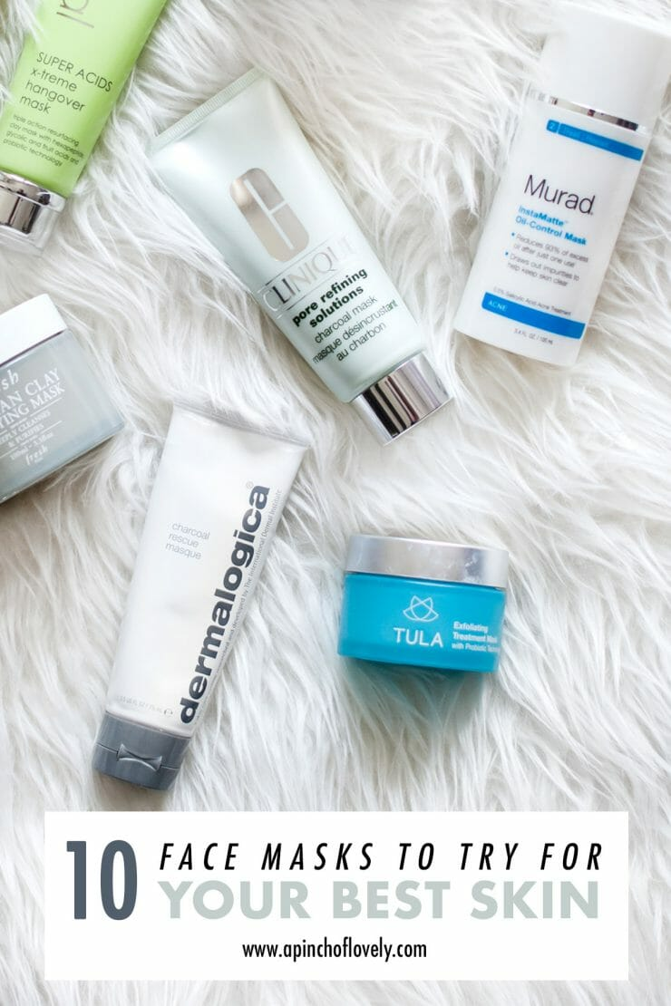 10 blogger tested face masks to try now!