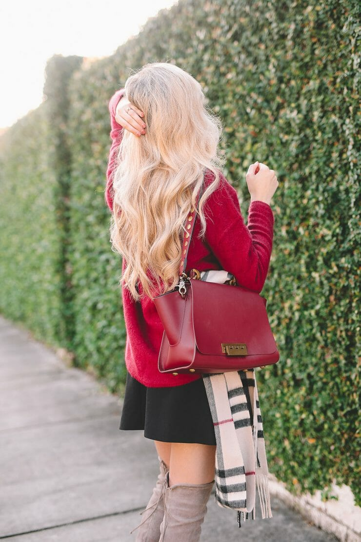 Cashmere On Sale + Holiday Date Night Outfit | Bloomingdale's Cashmere